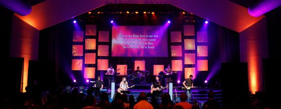 spandex squares church stage design ideas - Church Stage Design Ideas For Cheap