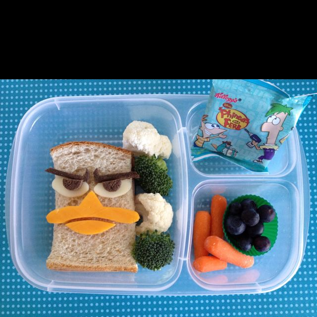 Perry the Platypus #bento