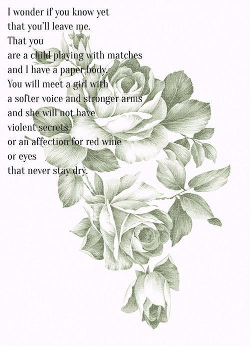 missing-infinite: Poem by Clementine von Radics | Roses ...