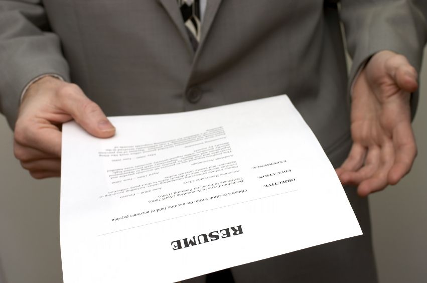 Handing a resume Image source Jobstreetmy Business - resume reviewer
