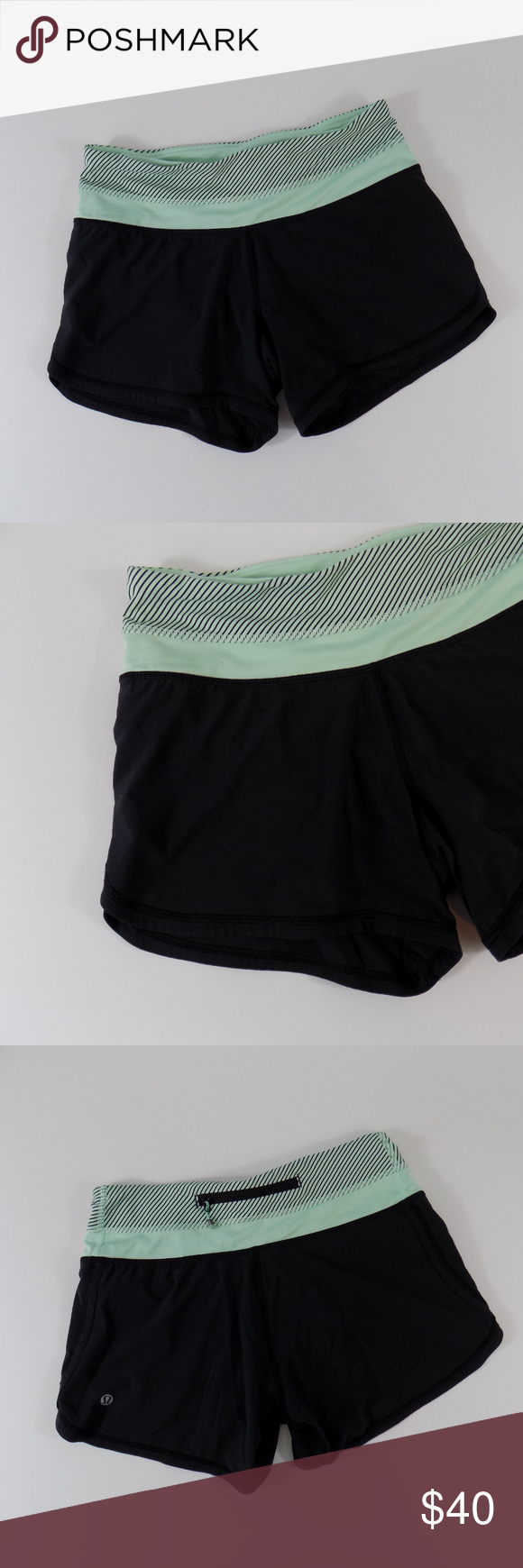 "Lululemon Womens 4"" Running Workout Shorts Lululemon Women"