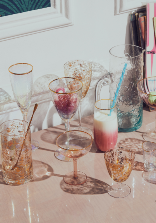 Our Stunning Range Of Glassware Will Be Sure To Wow Your Dinner Party Guests This Christmas With Images Cocktail Glassware Party Guests Cocktail Accessories