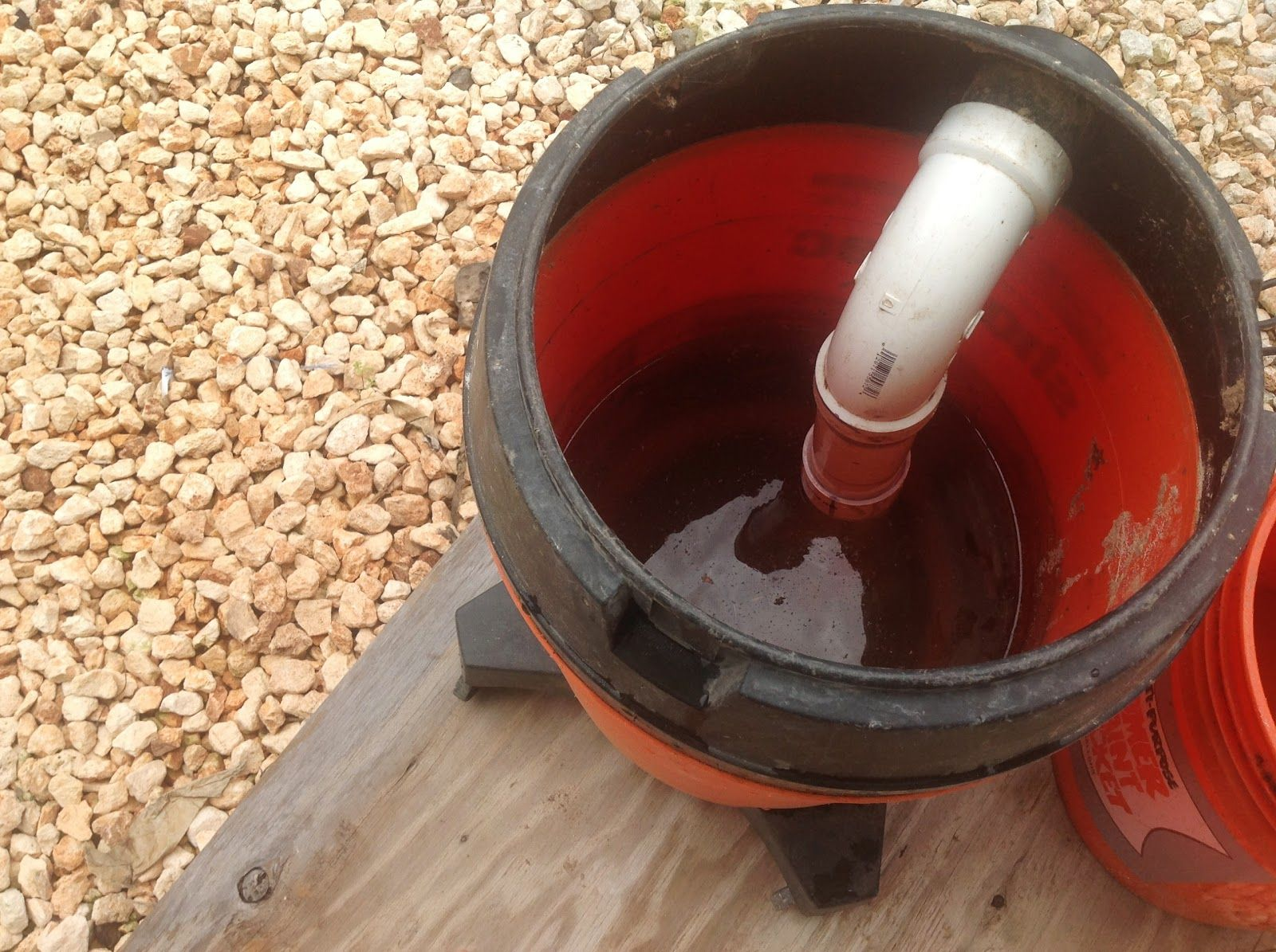 Drywall Sander Vacuum Bucket