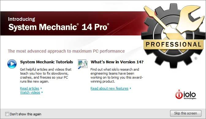 system mechanic latest version with crack