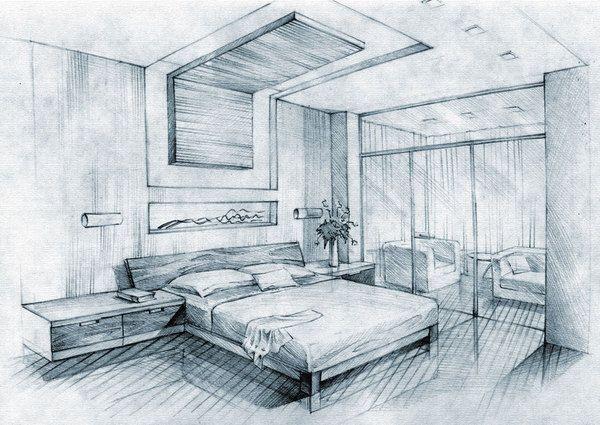 """Képtalálat a következőre """"interior sketch picture on the"""