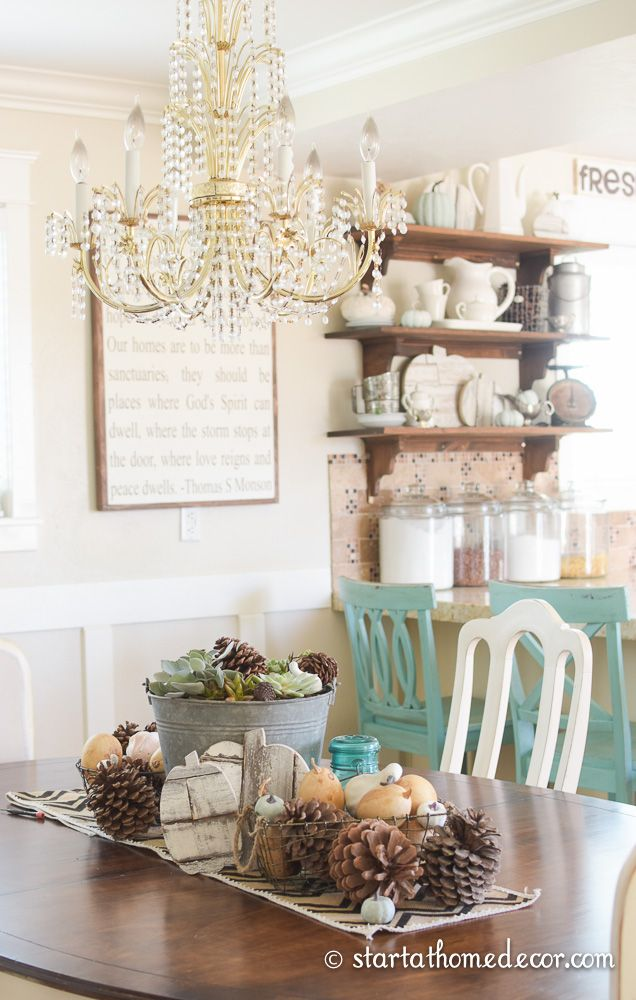 Shop the house challenge final week neutral fall decor