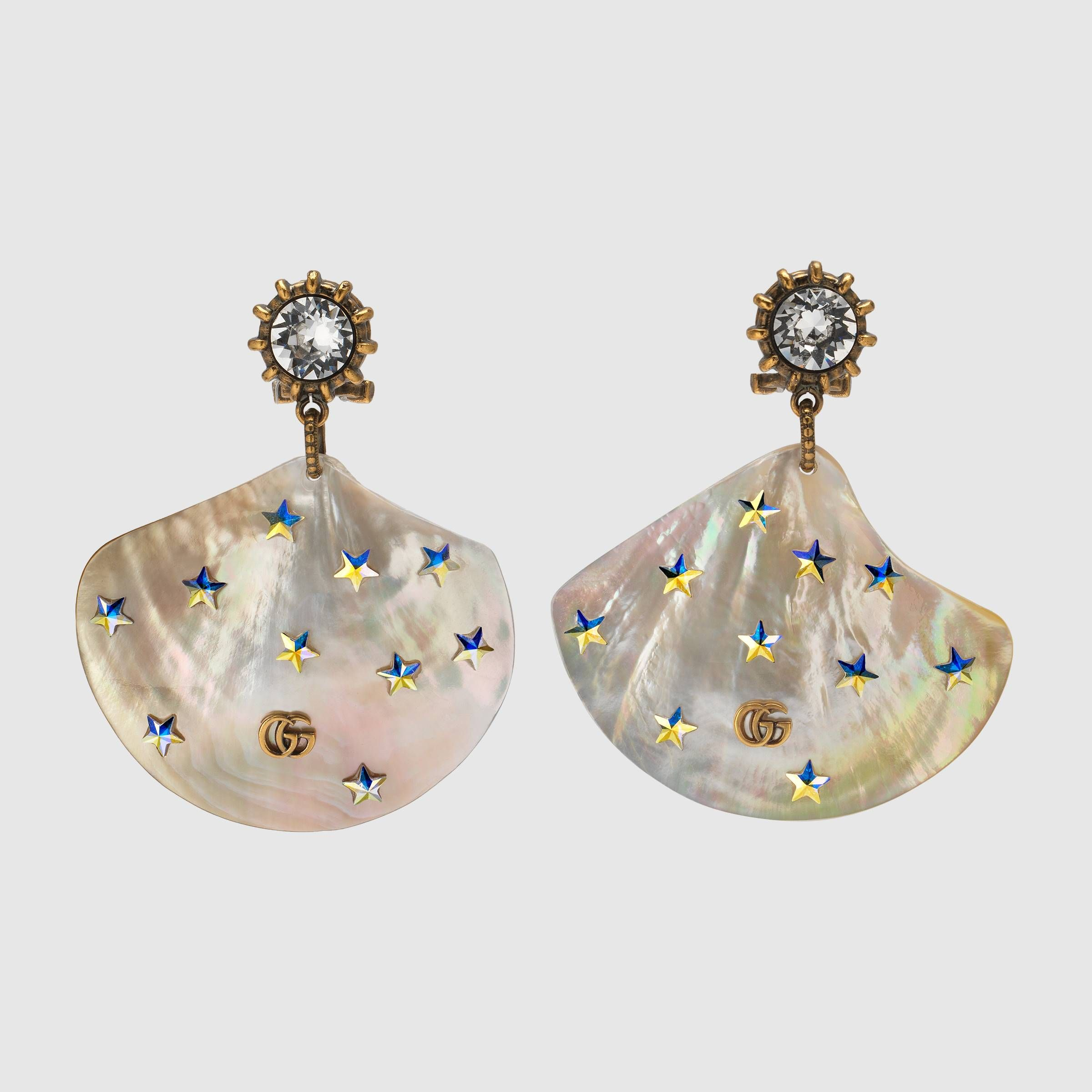 115b0e2821 Earrings with shell pendants - Gucci Gifts for Women 552711I74858571 ...