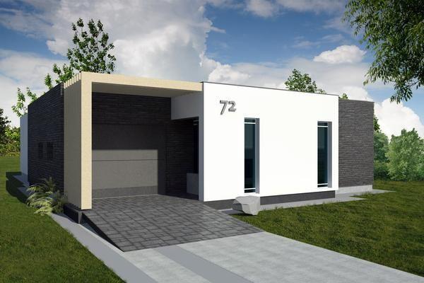 Casa moderna de tres dormitorios y 176 metros cuadrados for Plantas casas minimalistas