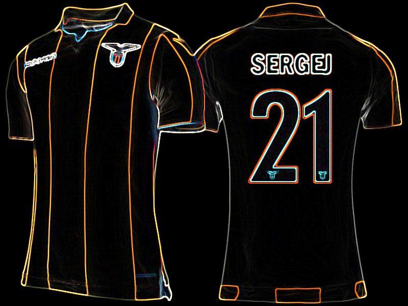 985f4070d Lazio 17-18 Away Jersey sergej milinkovic savic