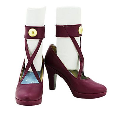 LOL Ahri Cosplay Shoes Boots Custom-Made For Christmas