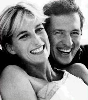 Princess Diana and Mario Testino