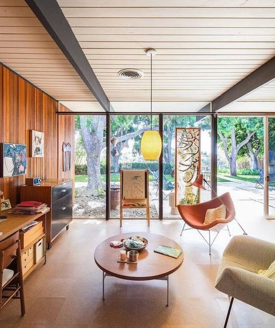 mid-century homes boberts residence
