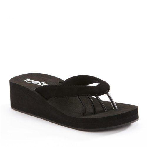 db8c4b13cb0 ToeSox Women s Yogini Wedge Sandals ToeSox.  32.99