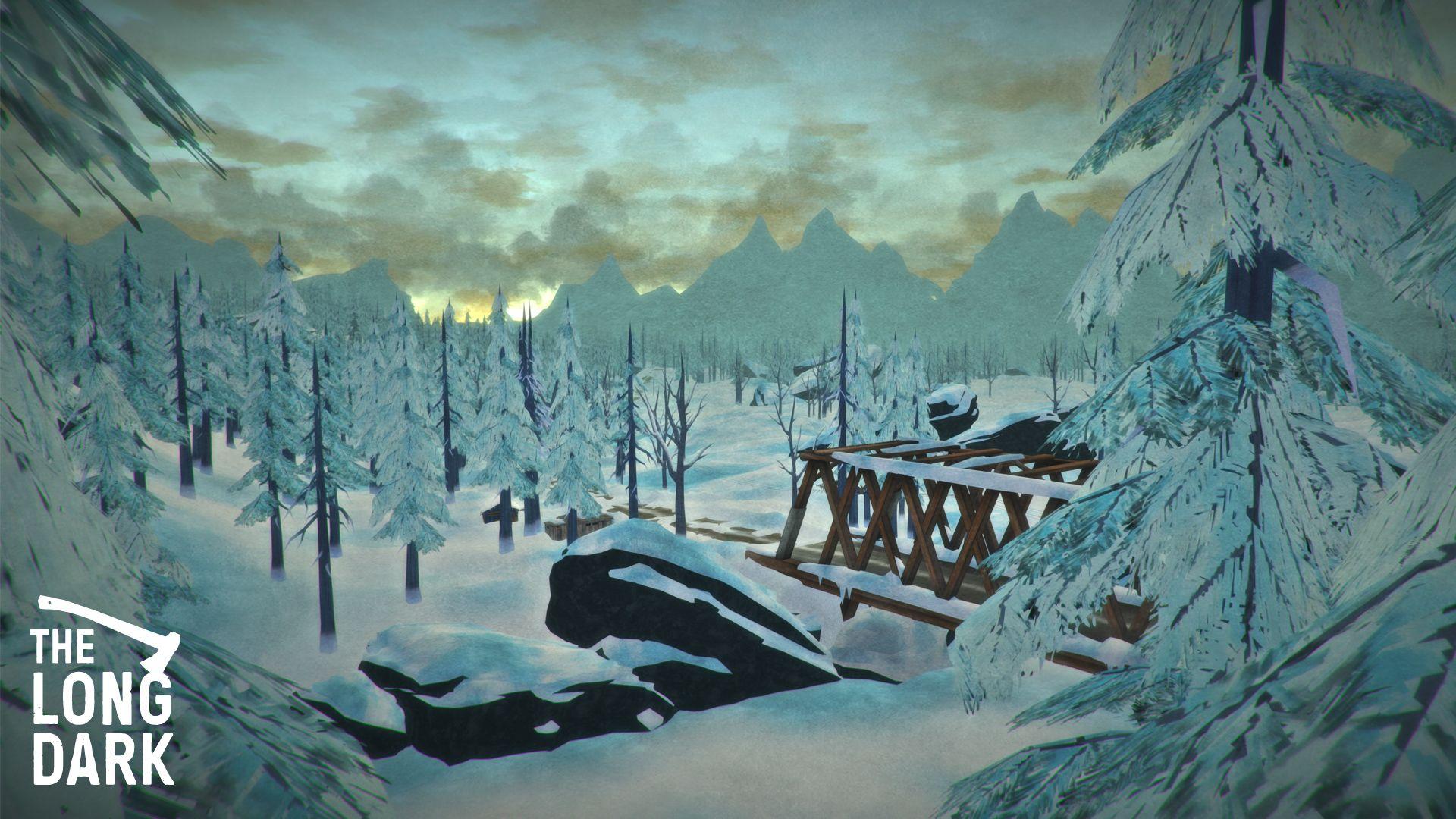 The Longg Dark  Hinterland Game World Map  The Long Dark