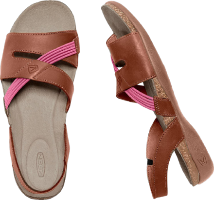 e78af6f6c31f KEEN Dauntless Strappy II Sandals - Women s Tortoise Shell Anemone ...