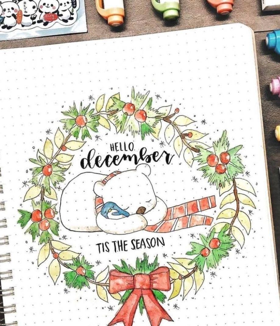 Printable Calendar 2021 January 2021 December 2021 Printable Calendar Template Printable Calendar Monthly Planner Bullet Journal Christmas December Bullet Journal Bullet Journal Inspiration