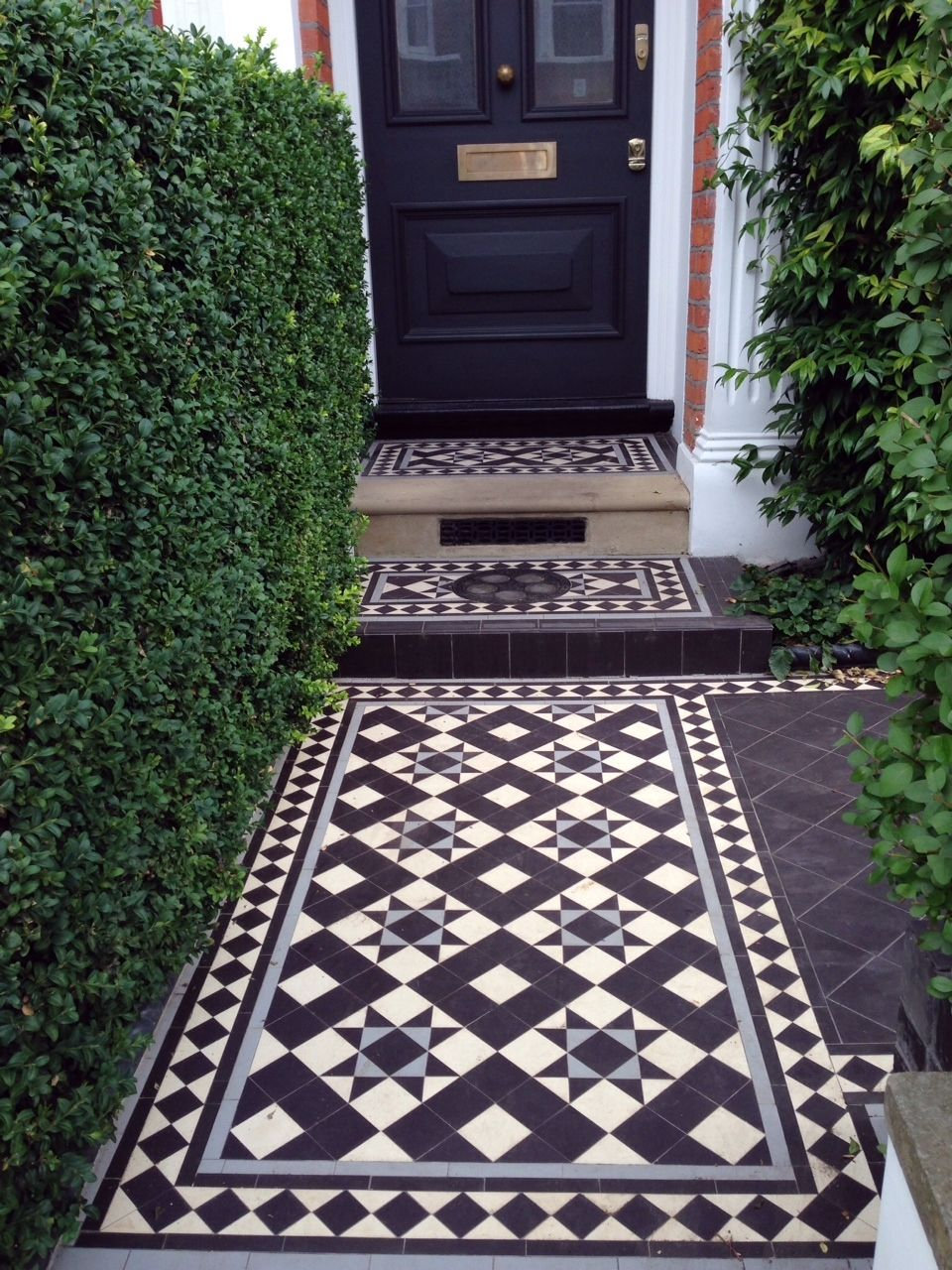 "covered porch idea tile #curbappealcontest … | ""schlage curb"