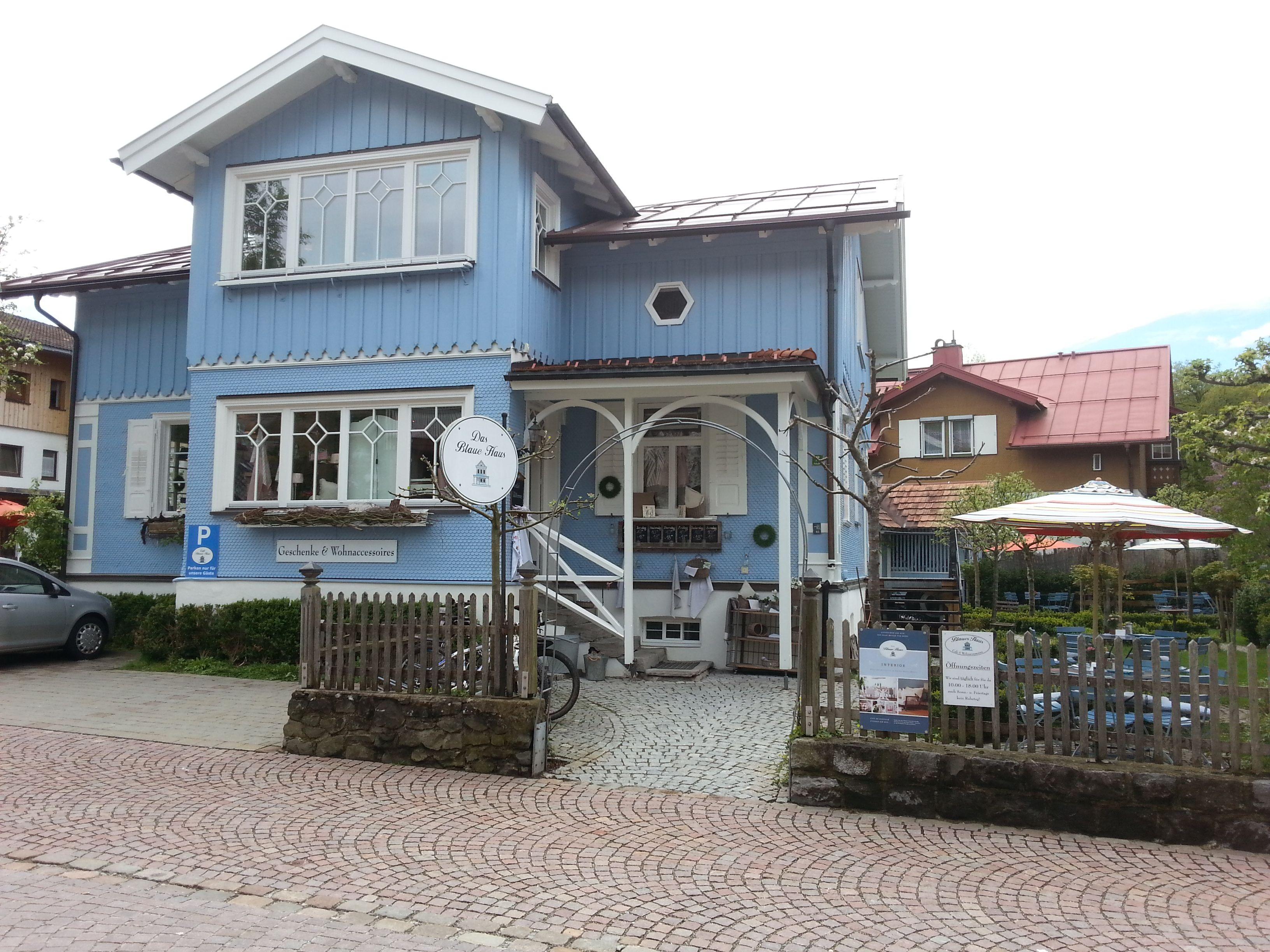 Blaue Häuser das blaue haus oberstaufen allgäu germany cities and castle