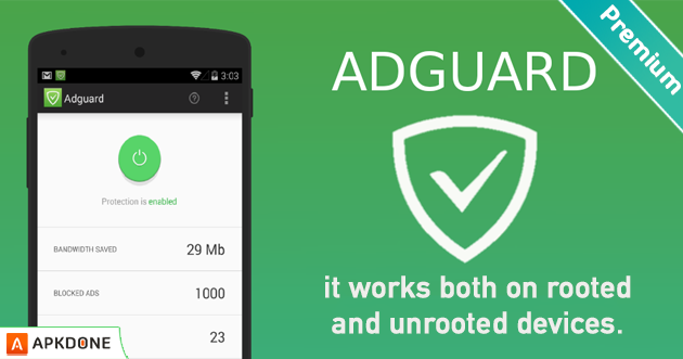 Adguard Premium Apk Full Mod V3 1 45 For Android Free Download Android Apps Download App Ad App
