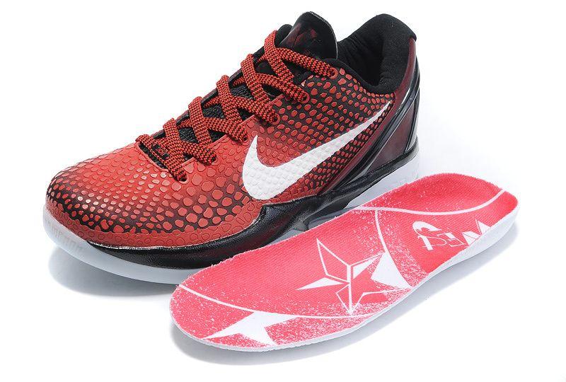 elegir original grande descuento venta captura Nike Zoom Kobe 6 VI All Star Red Black white | Sport shoes men ...