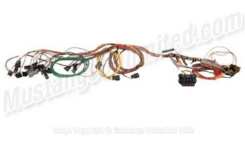 Painless Wiring Fuel Injection System Harness Standard Length For 1986 1995 5 0l 5 8l Mustang Engine With Mass Air Conn Fuel Injection Mustang Engine Mustang