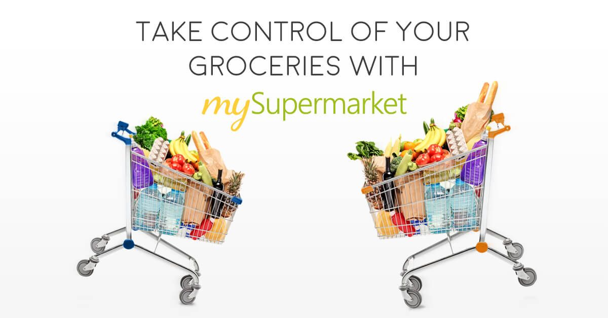 Online Food Grocery Shopping At Mysupermarket Makes Supermarket Price Comparison And Saving Easier For Y Grocery Online Grocery Online Grocery Shopping Sites