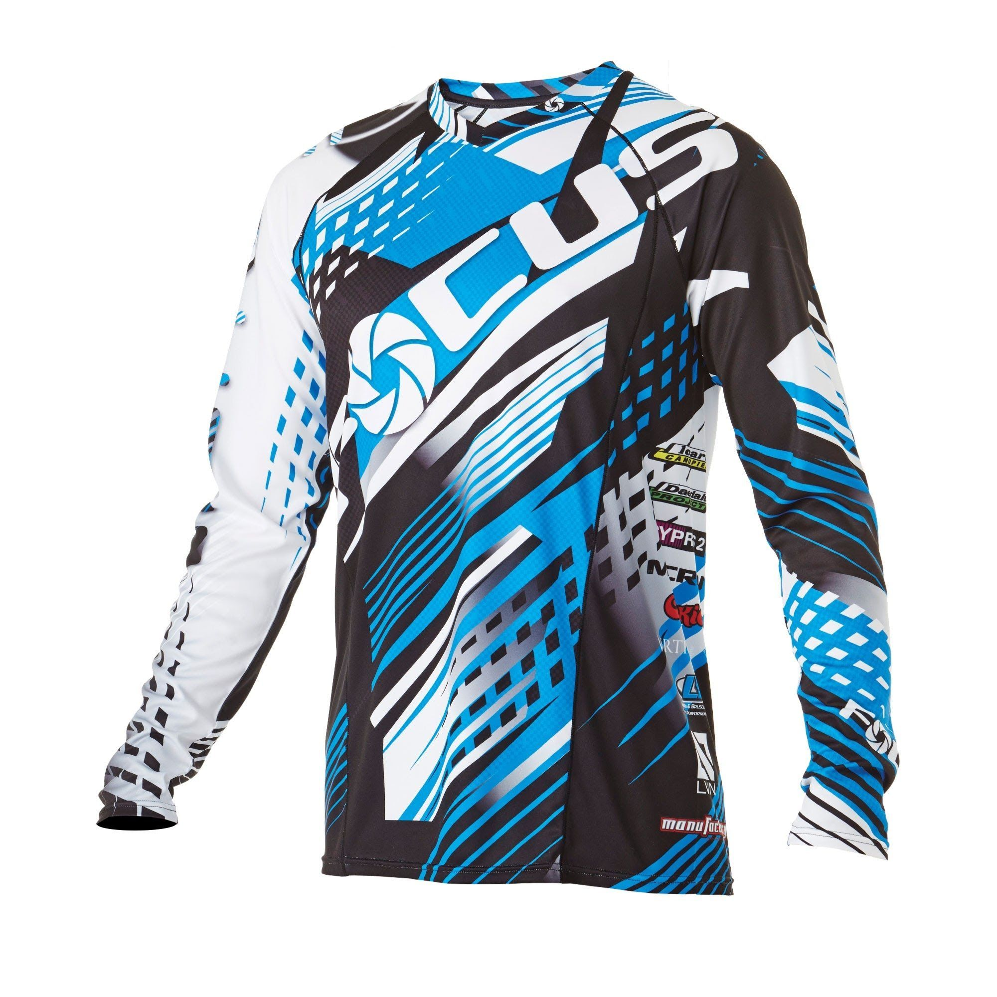 Infinite Skydiving Jersey In Blue Colorway At Manufactory