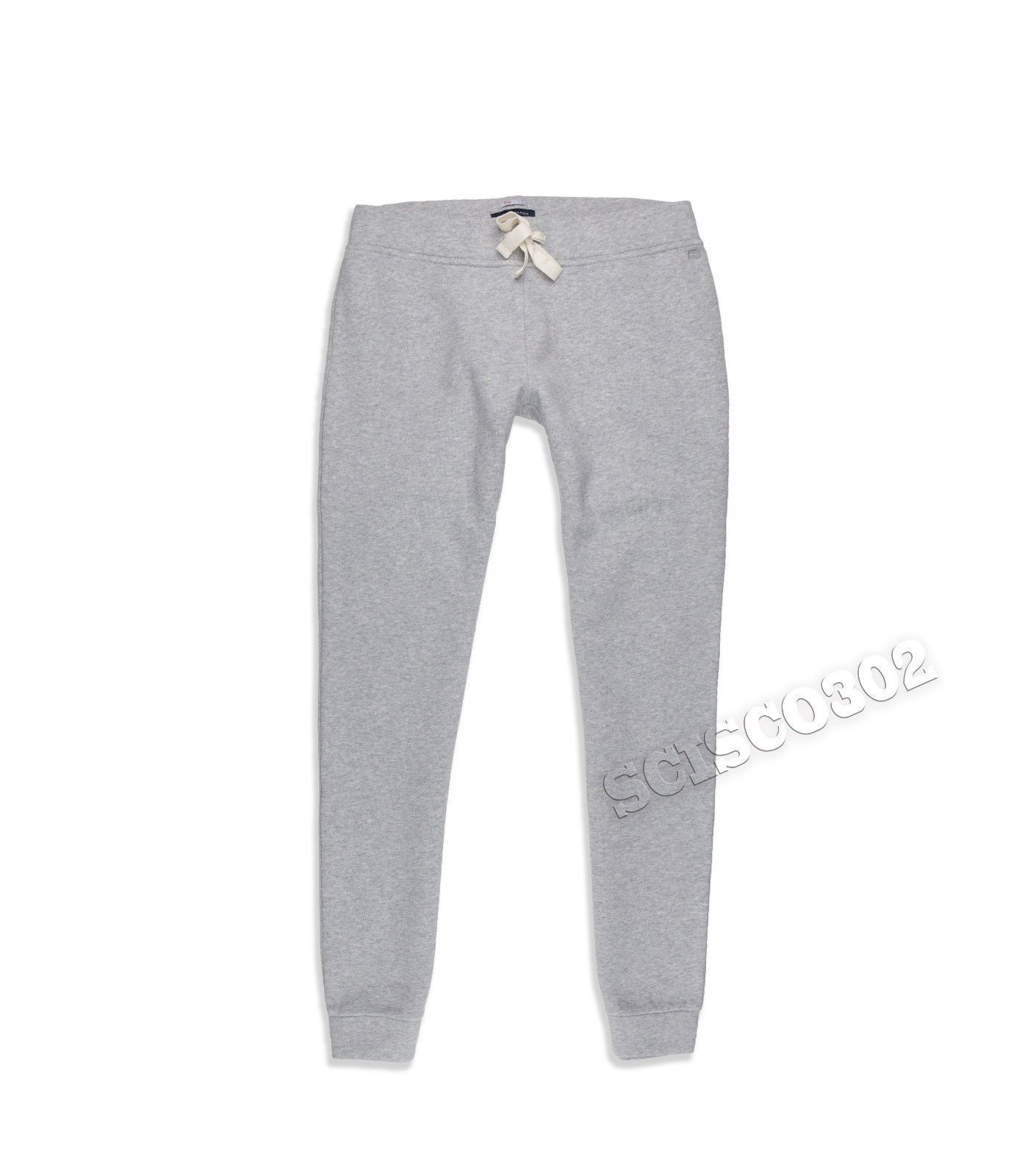 100% Original Tommy Hilfiger Athletic Product Style: Women's Sweatpants Joggers Material: Cotton Blend Color: Gray