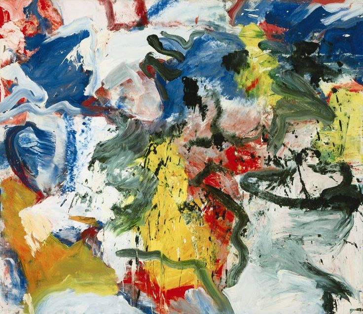 Untitled V (1950-52) Willem de Kooning.