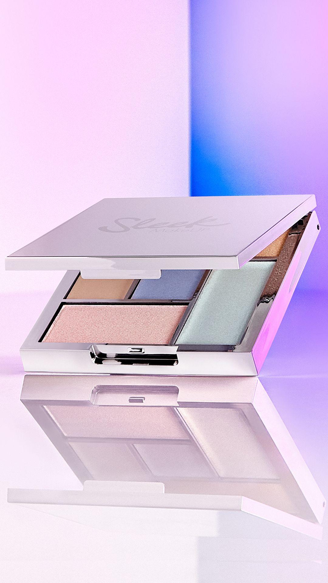 british beauty cosmetics brand sleek makeup distorted