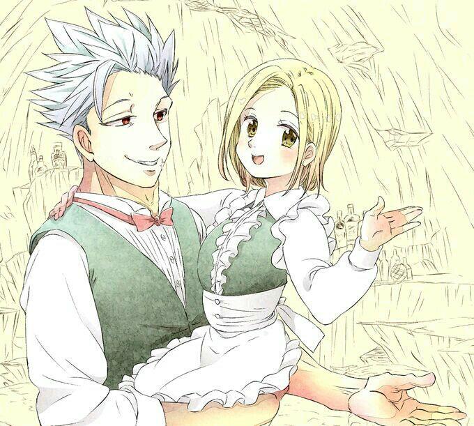 Ban x Elaine Imagenes   Seven deadly sins anime, Anime