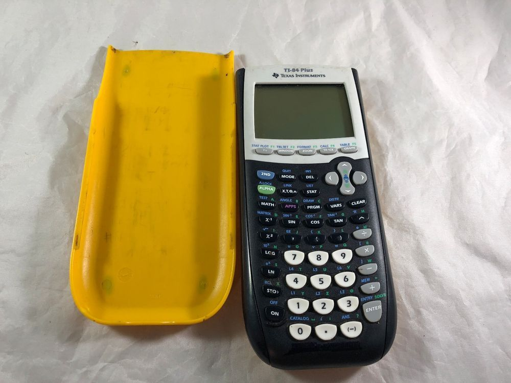 Texas Instruments Ti 84 Plus Graphing Calculator Yellow C3