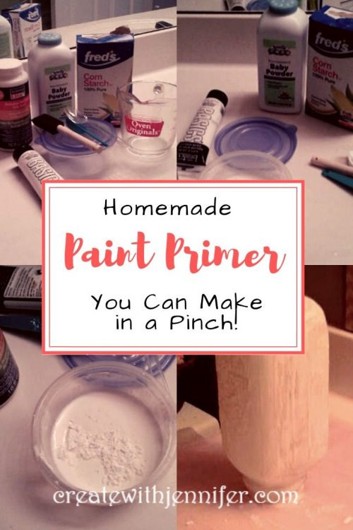 Homemade Primer Paint Run Out You Can Make This In A Pinch Homemade Primer Paint Primer Homemade Paint