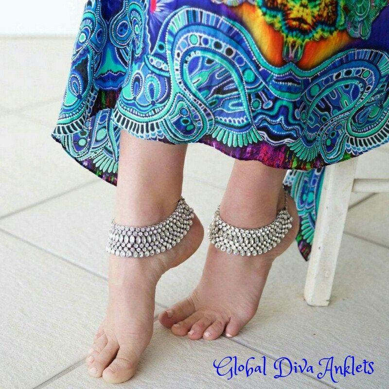 Lots of gorgeous blingy anklets in store soon 💎💙!!
