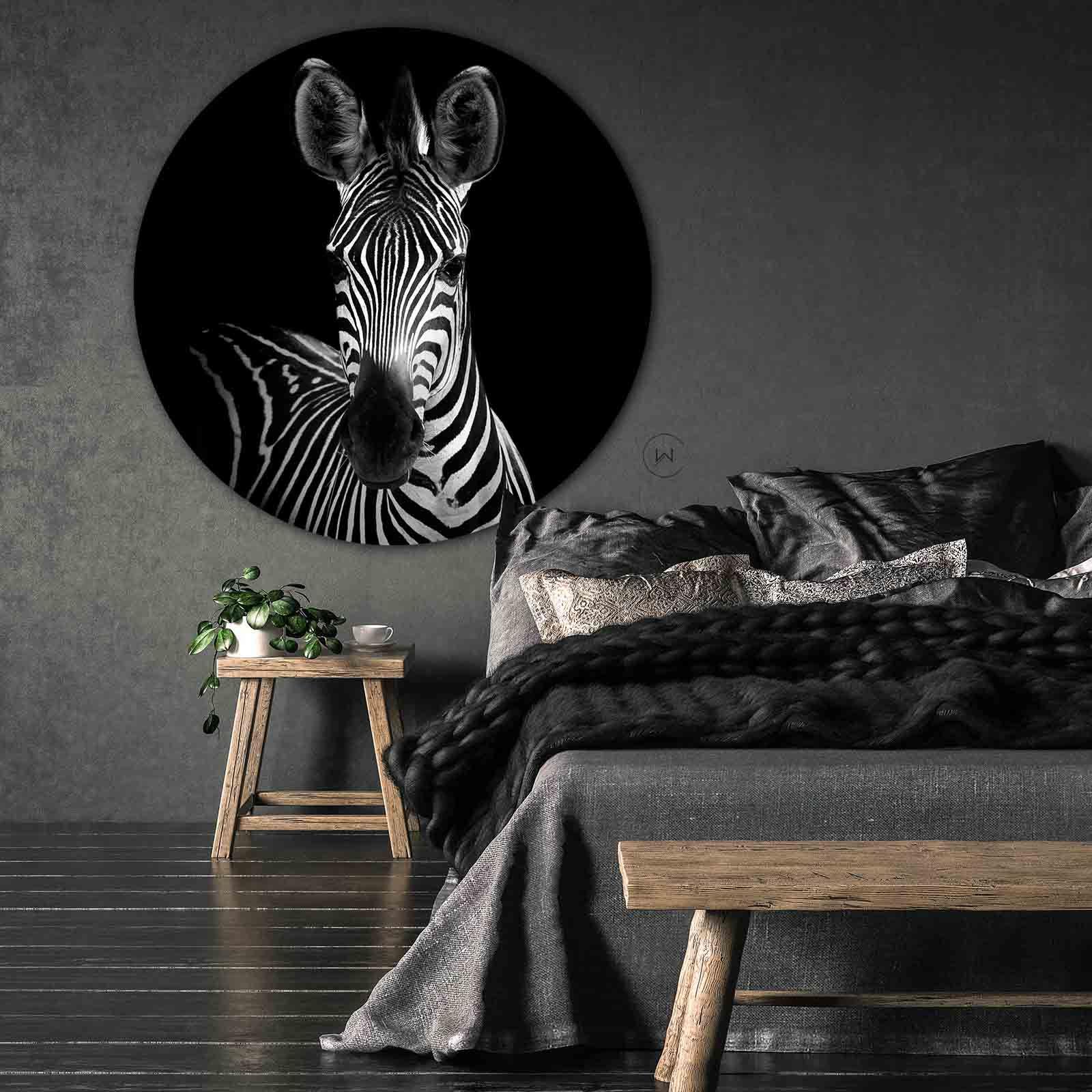 Wanddecoratie Slaapkamer Zwarte Slaapkamer Muren Zwart Wit Slaapkamers Zebra S
