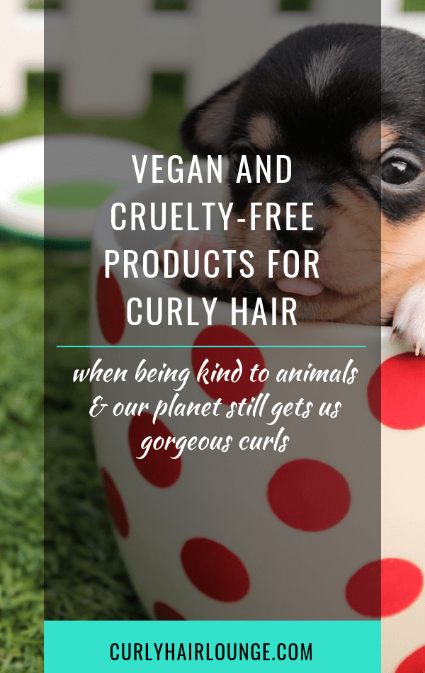 Vegan And Cruelty Free Products For Curly Hair Curly