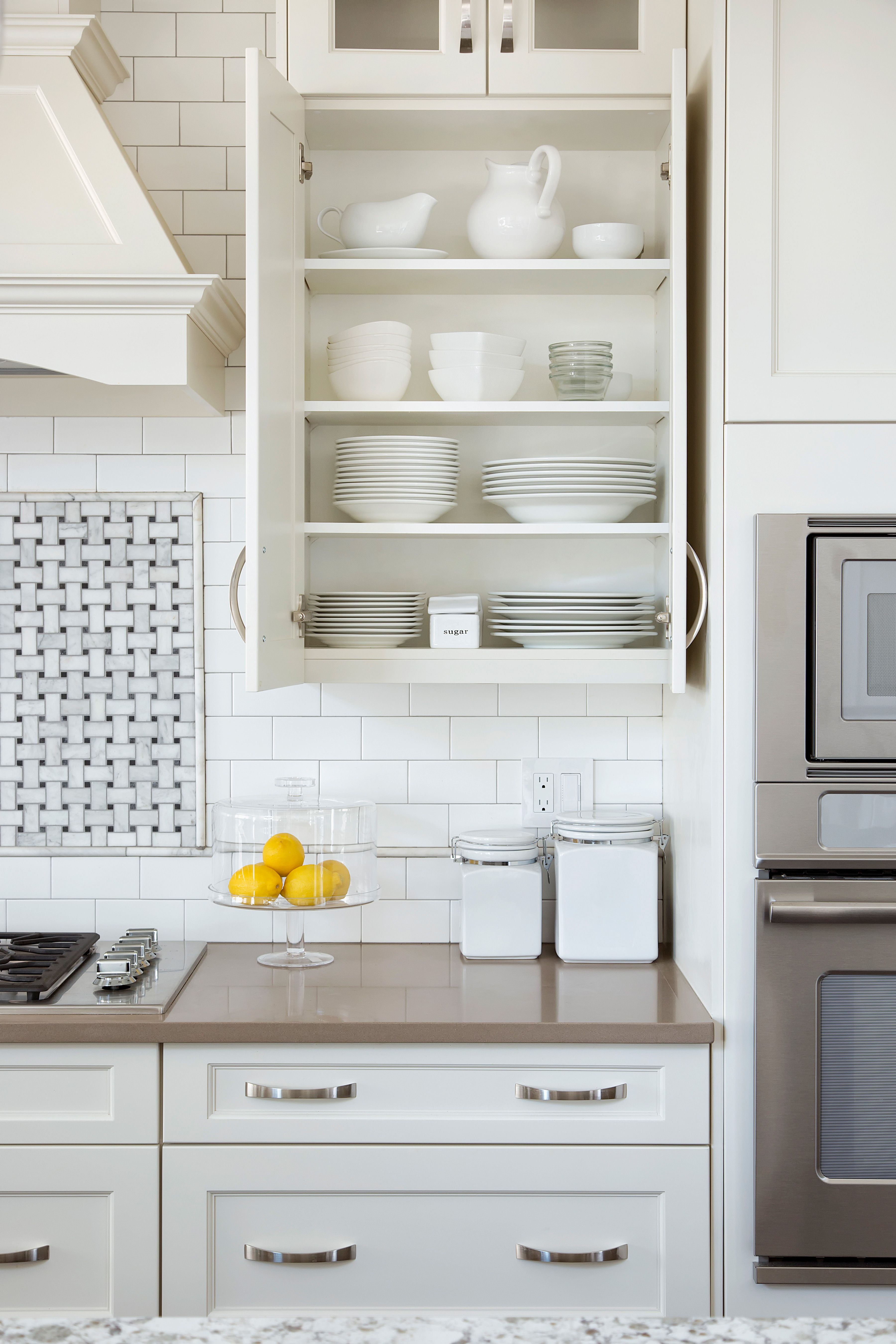 Tips On Organizing Your Home Clean Kitchen Cabinets Kitchen Cabinets Kitchen Counter Organization