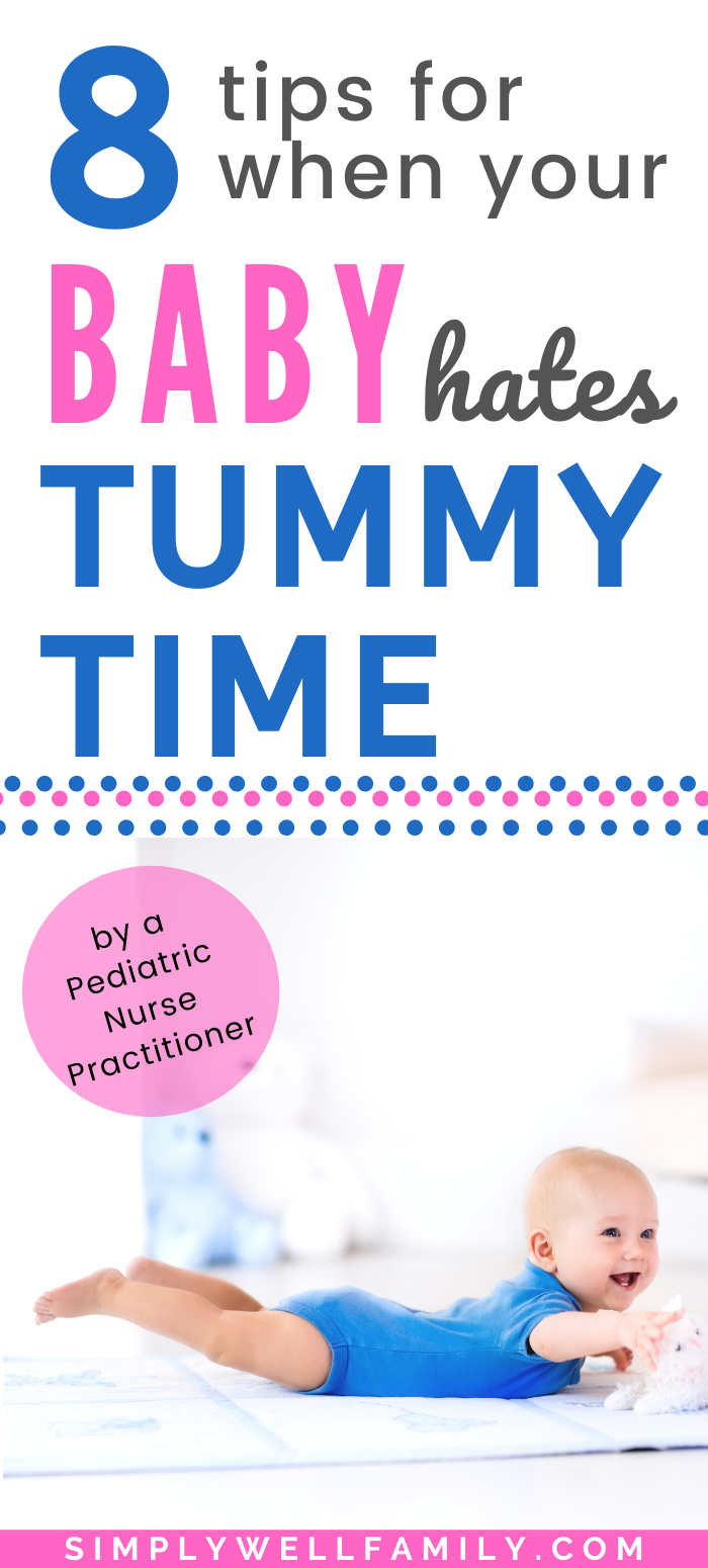 Why Tummy Time Is Important - Simply Well Family in 2020 ...