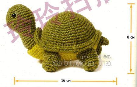 черепаха крючком | Amigurumi toys | Pinterest