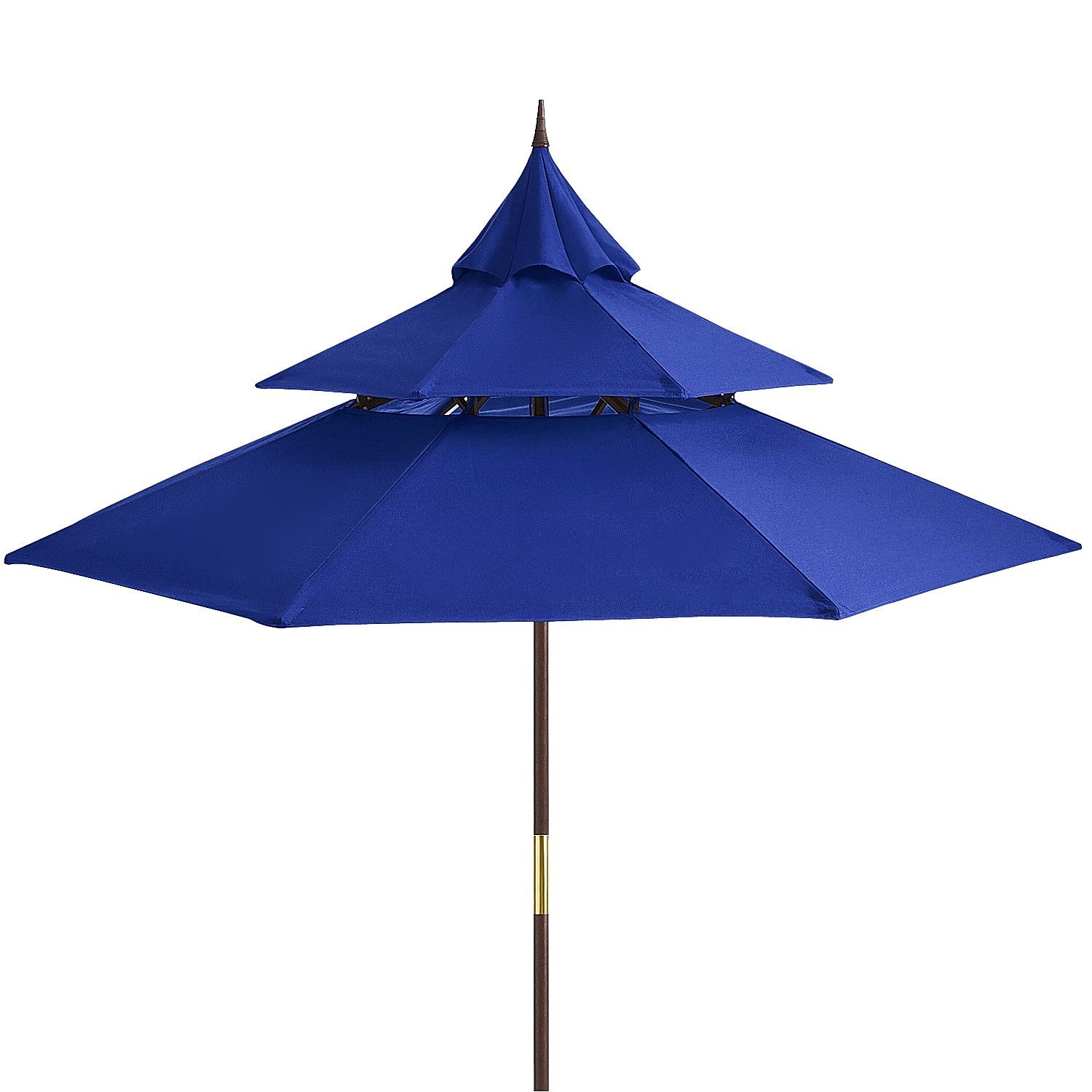 Attrayant Pagoda 9u0027 Maui Wood Patio Umbrella