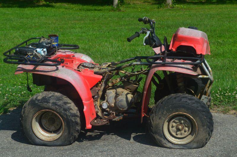 Yamaha Yfm250 Bear Tracker Bruin Atv 4 Wheeler Wheeler