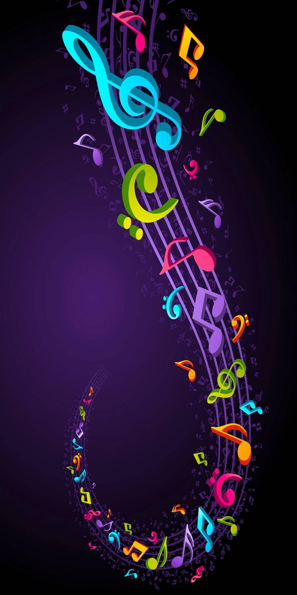 Müzik Notalarıyla Eşsiz Güzellik Duvar Kağıtları 2019 Music