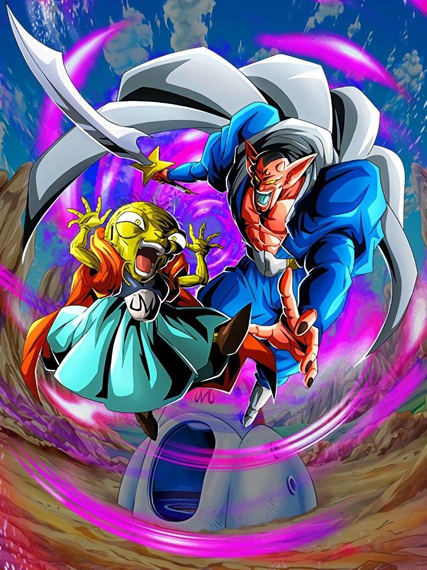 New Lr Babidi And Dabura Majin Buu Saga Ki 3 Hp Atk Def 130 Dbz Anime