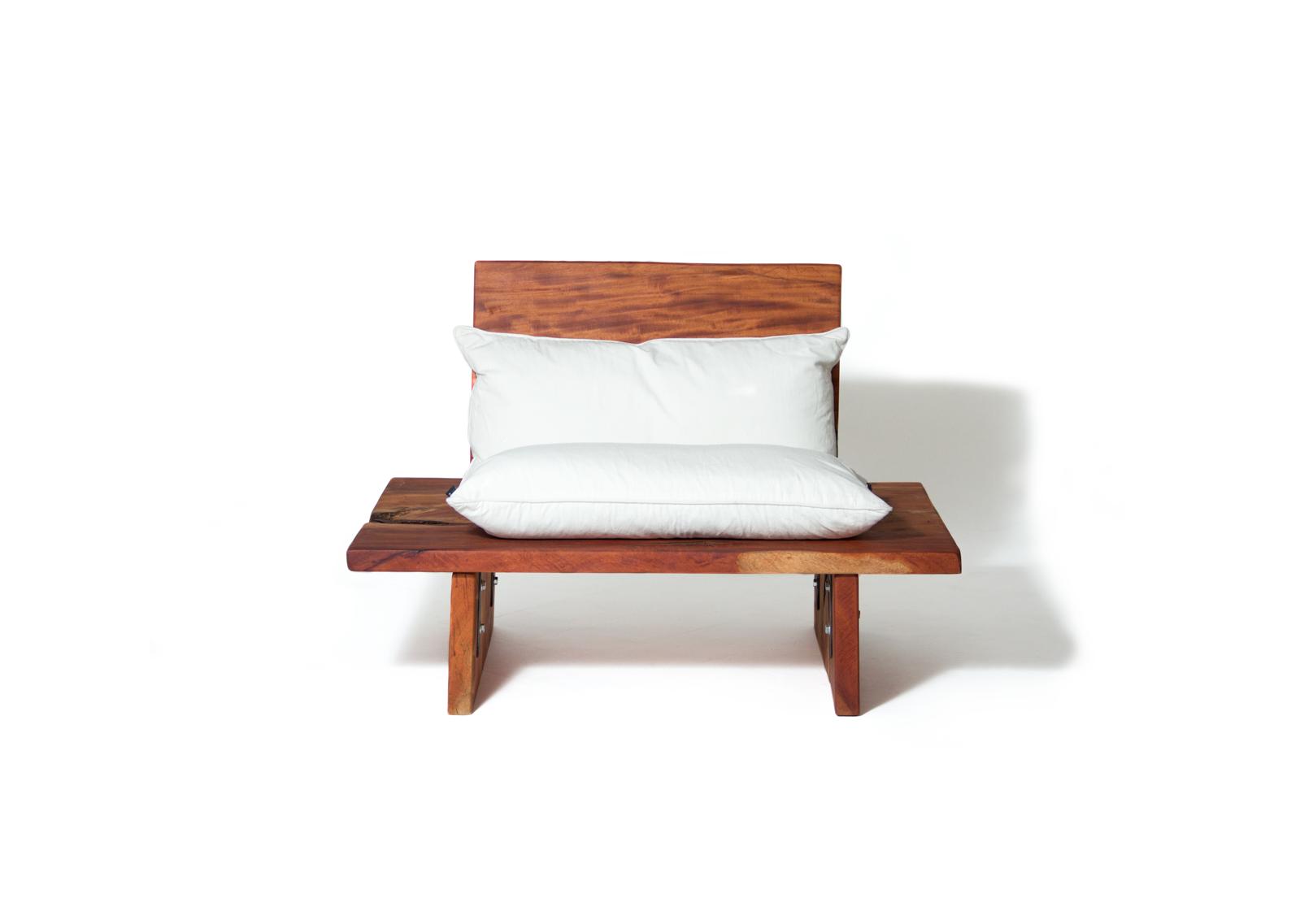 "Low Chair ""Caoba"" wood  www.herbehwood.com"