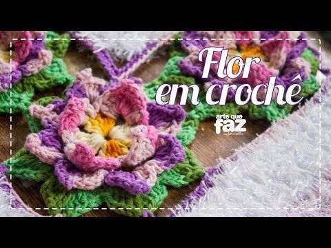 flor em croch maria jos youtube fiori e foglie pinterest watches ems and youtube