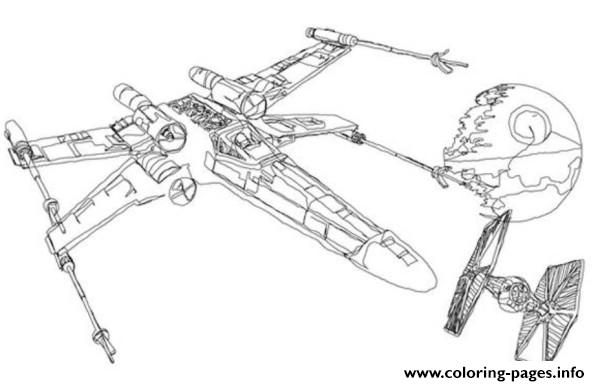 Print Star Wars X Wing Coloring Pages With Images Star Wars