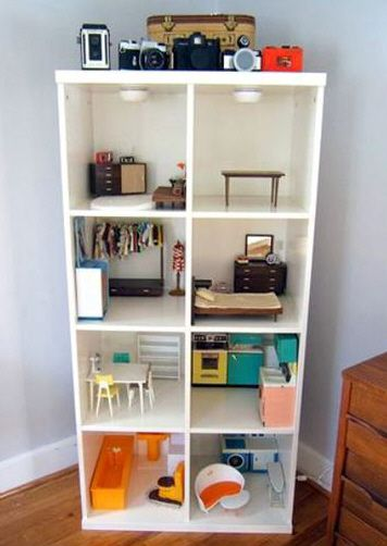 Project: Project: Wooden dollhouses are expensive. Make your own!