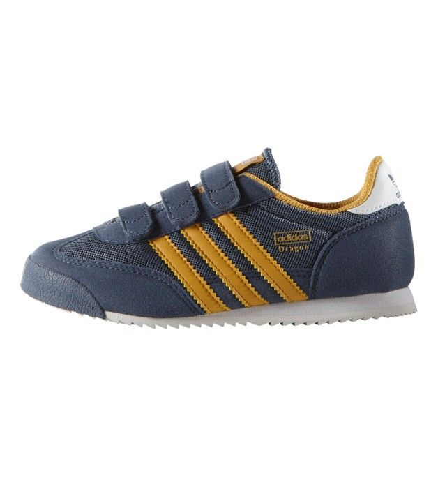 huge discount 9957f 1425b Adidas Dragon CF C Kids Fade Ink Corn Yellow, Kids Footwear,  www.oishi-m.com