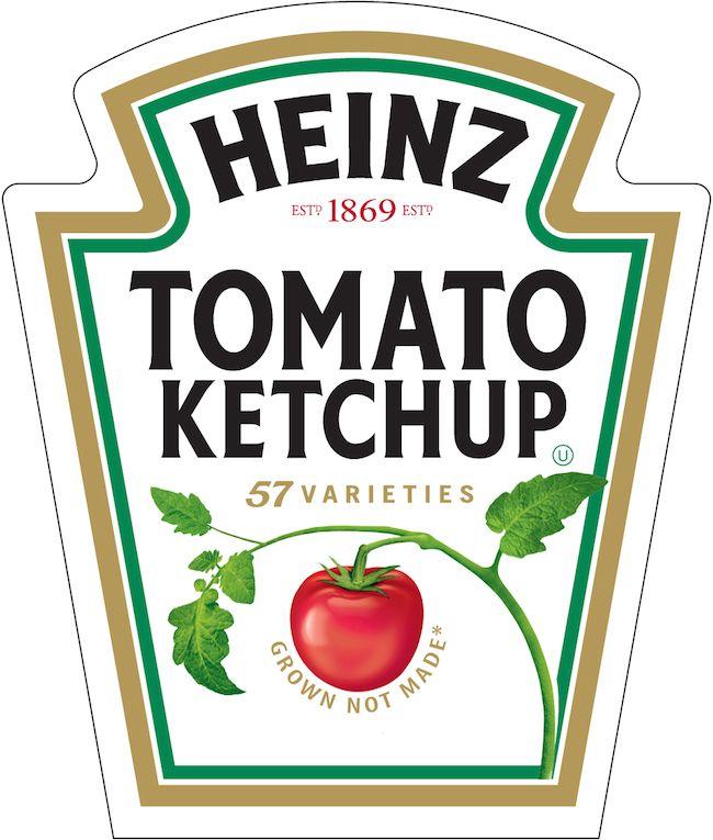 3 heinz il logo lo stesso di quando fu fondata la societ rh pinterest com ketchup logo ketchup logo