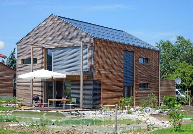 Moderne Holzhäuser holzhaus mit passivhauskomponenten bayern senioren wg 210 und